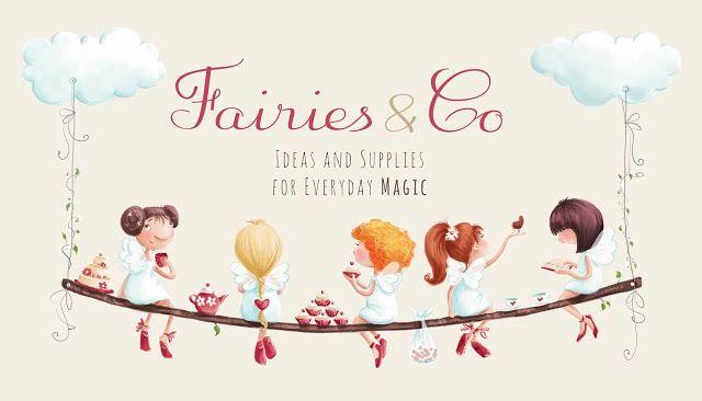 Elina Ellis Illustration: Fairies  Co
