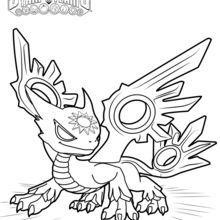 Flameslinger coloring pages ~ Spotlight coloring page | Kids birthday ideas | Pinterest ...