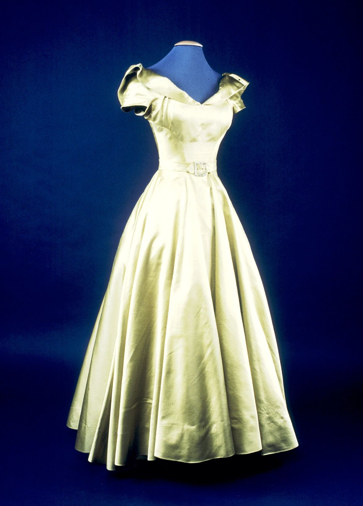 Two-piece dress, Hattie Carnegie, 1948-49.