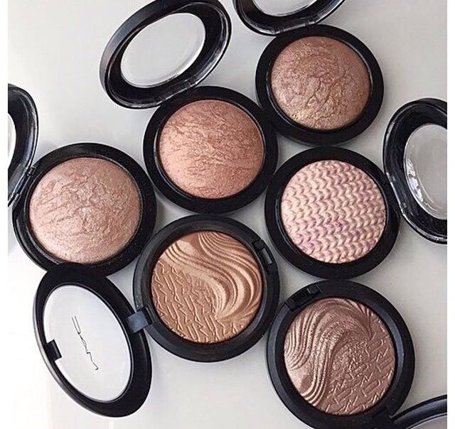 MAC baked highlighters, amazing !!