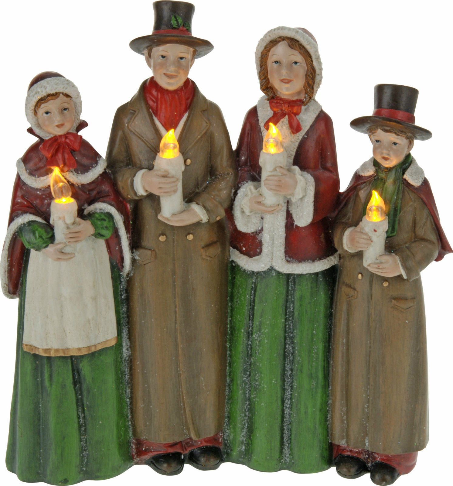 Christmas Carolers Holiday Yard Decorations By Al3001 On: Christmas Carol Singers Decorations