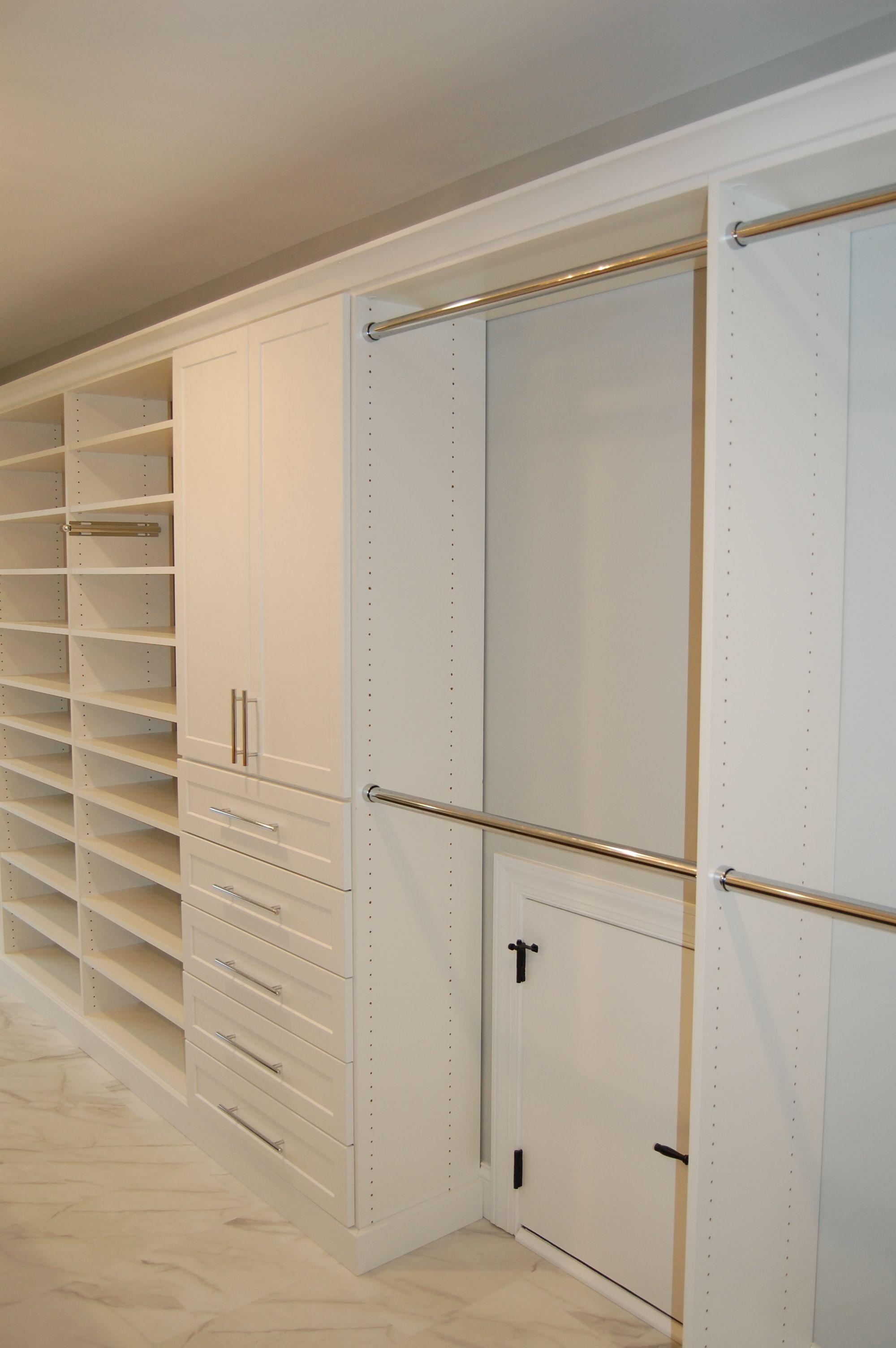 White Closet Storage Organization Storage Solutions Creative Closets Storage Solutions