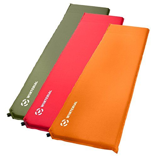 Winterial Lightweight SelfInflating Backpacking and Camping Sleeping Pad  Sleeping  Camp  Hiking  Travel  Green *** Want to know more, click on the image.