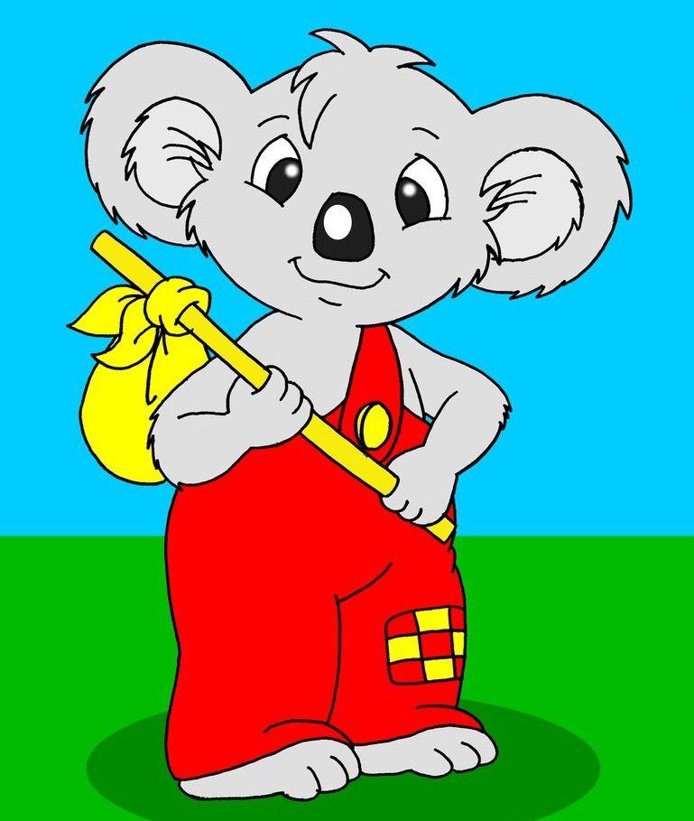 blinky bill koala bears pinterest animal rh pinterest com Koala Bear Lion Clip Art