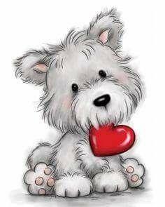 Happy Valentine S Day Valentine Dogs Pinterest Clip