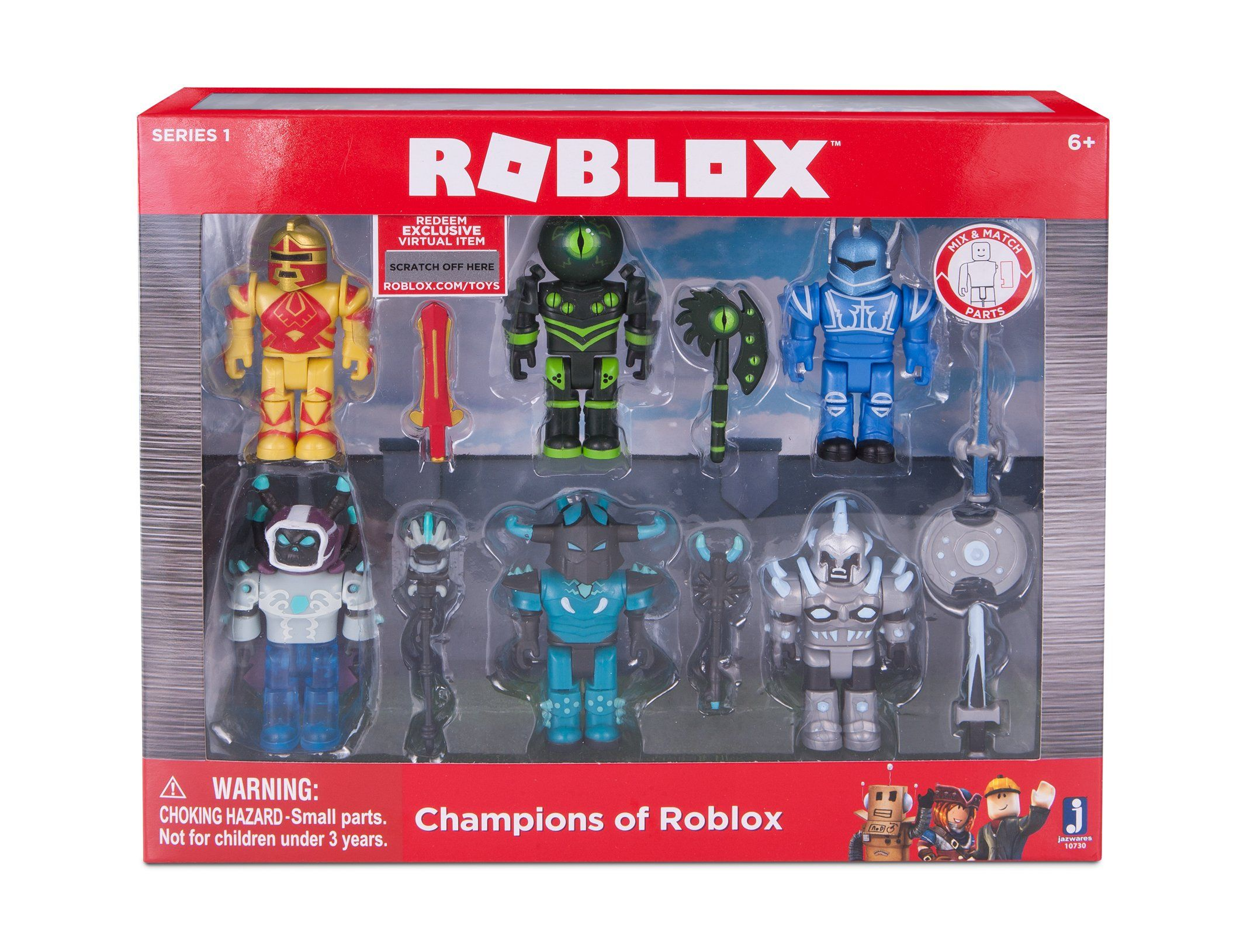 Coloring Pages Roblox : Roblox champions of roblox 6 pack . champions of roblox pack