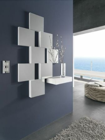 Mueble de entrada juliette 14 recibidor lacado brillo hogar muebles de entrada espejos - Muebles originales madrid ...