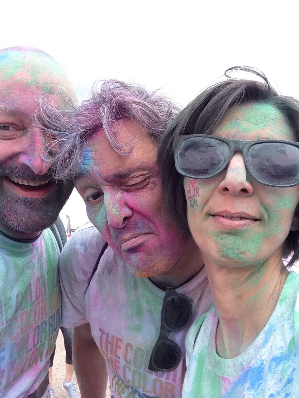 Fernanda & Hervé, The Color Run - Nancy, 31 Mai 2015