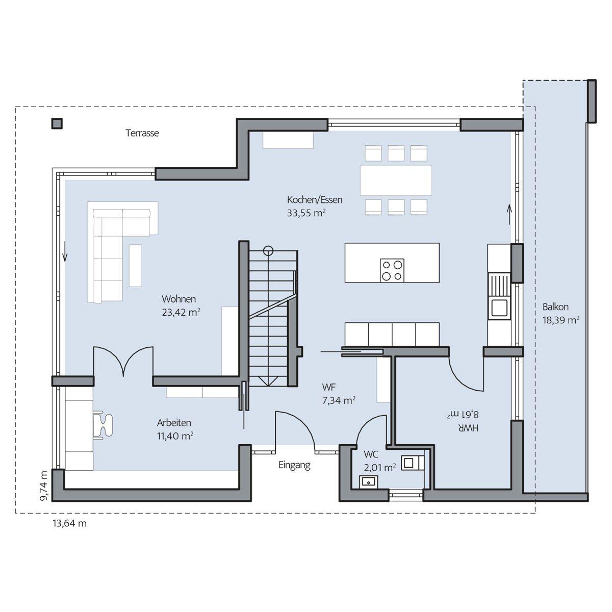Haus Plane Erdgeschoss Hauser In 2019 Haus Grundriss Grundriss