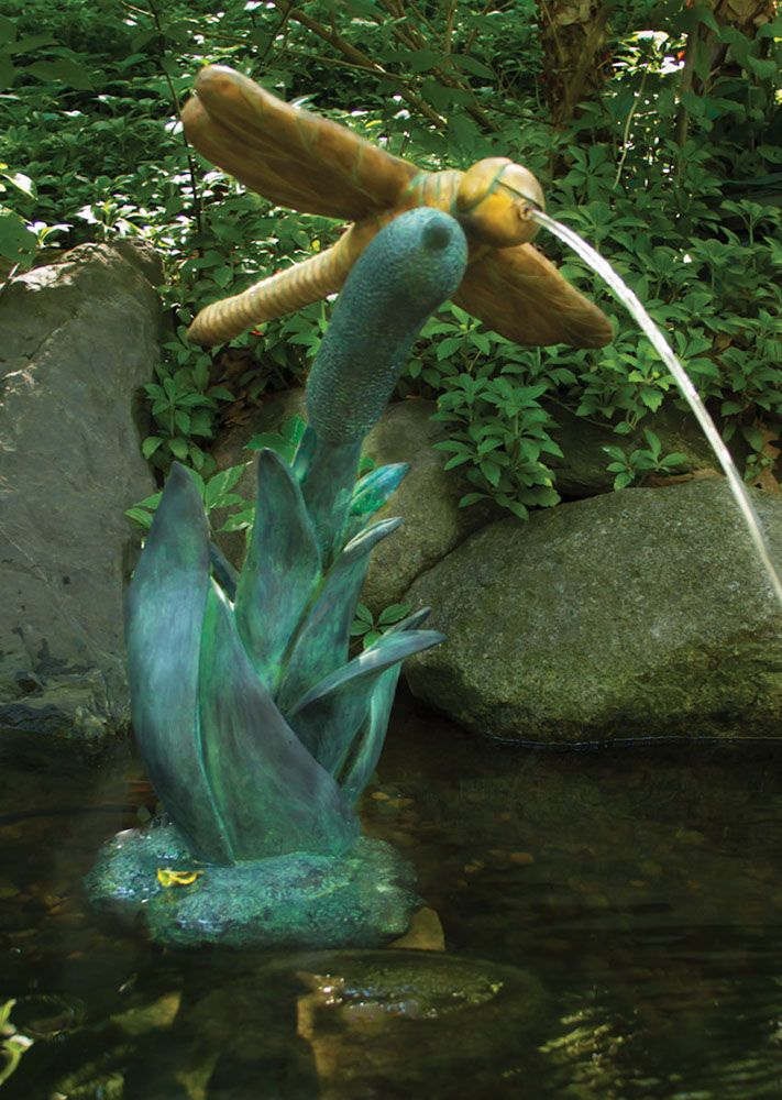 Dragonfly Spitter for Ponds, Water Gardens or Fountains ...