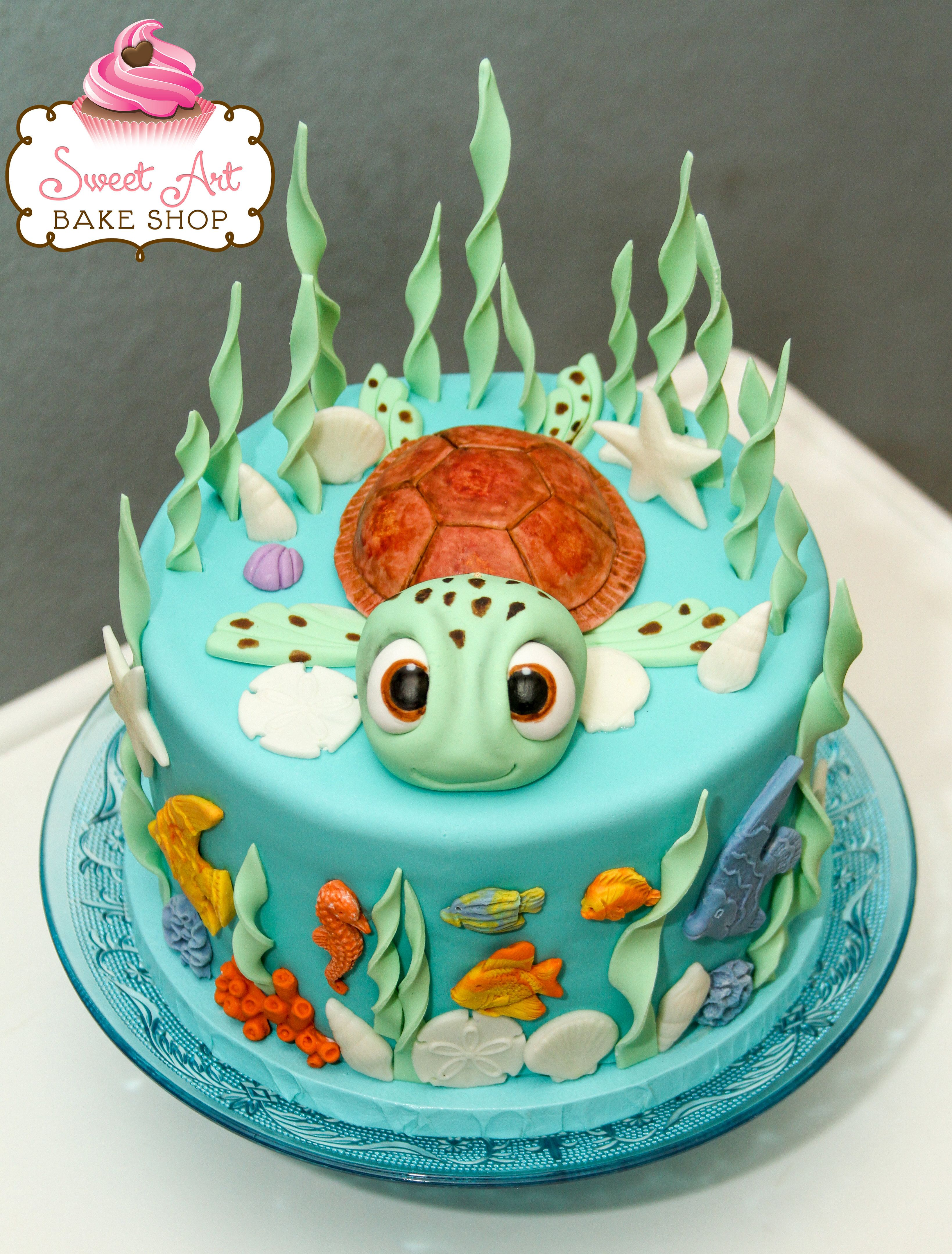 Image Result For Turtle On A Rock Cake Birthdays Pinterest