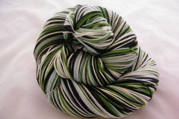 Baa Baa Black Sheep Four Stripe Self Striping Yarn