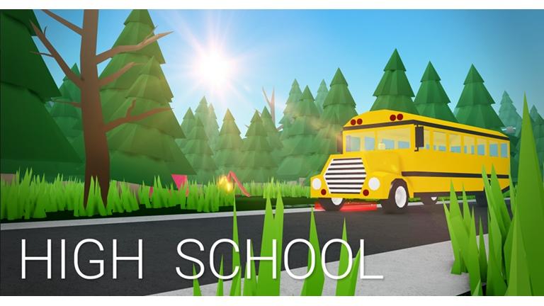 (30) High School Roblox in 2020 High school, School