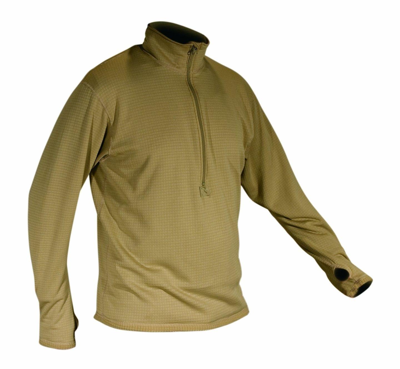 Men S Polartec Grid Fleece Zip Thermal Turtleneck Top Desert Sand Ch11g036w73 Size Small Sweatshirt Tops Outdoor Outfit Turtle Neck Top [ 1330 x 1440 Pixel ]