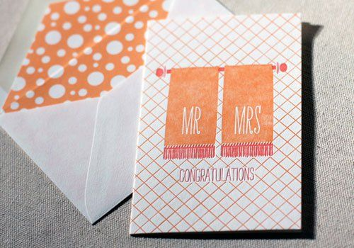 Mr. & Mrs. Card
