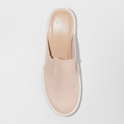 6f7edc46e578 Women s Kylena Backless Sneakers Mule - A New Day Blush 11