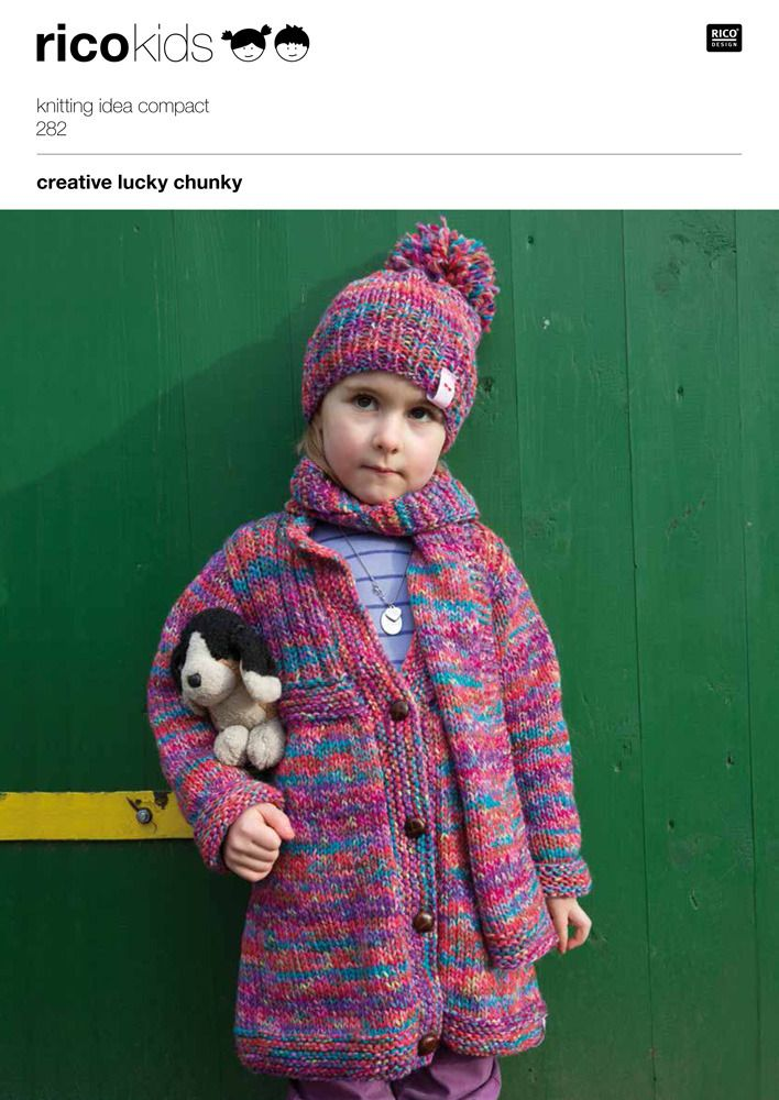 Rico Knitting Patterns For The Whole Family Knitting Pinterest
