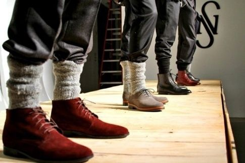 9eac1136a16 What's the best way to wear jeans tucked into socks? - Quora | We ...