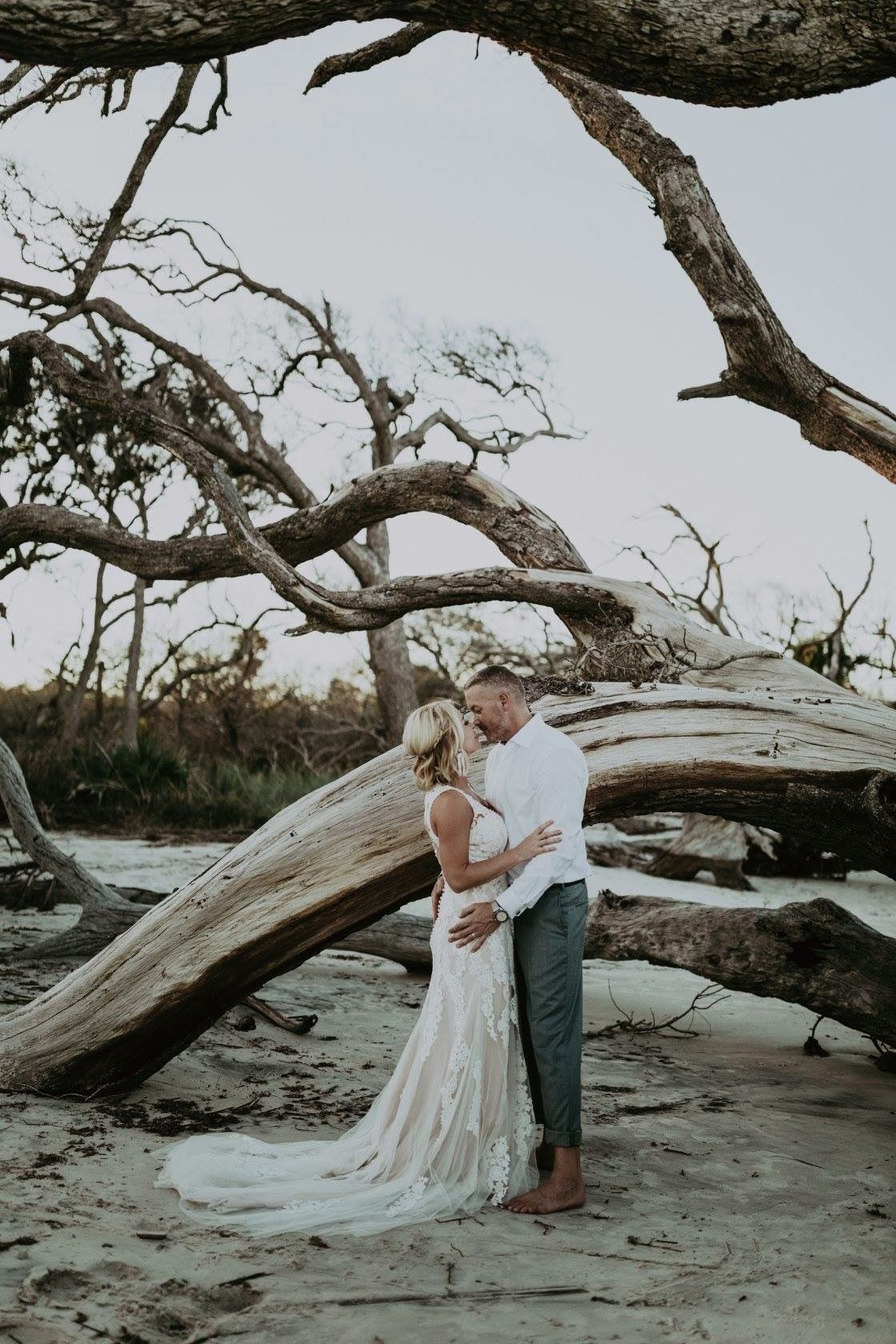 Jekyll Island Driftwood Beach Wedding Elopement Wedding Venues Beach Beach Wedding Locations Beach Wedding Photos