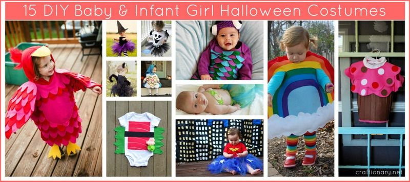 15 Baby Girl Halloween Costumes (DIY Ideas Baby girl halloween - diy infant halloween costume ideas