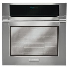 Electrolux Icon 30 In Self Cleaning Convection Single Electric Wall Oven Stainless