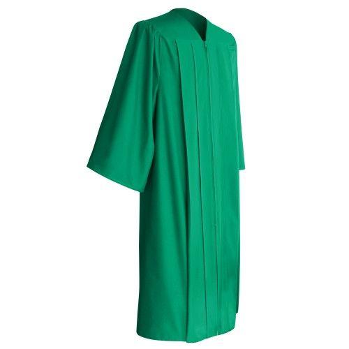 Matte Emerald Green Graduation Gown Graduation Worlds Matte