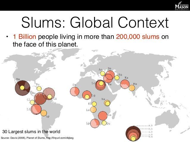 Largest Slum In The World Map ή Google
