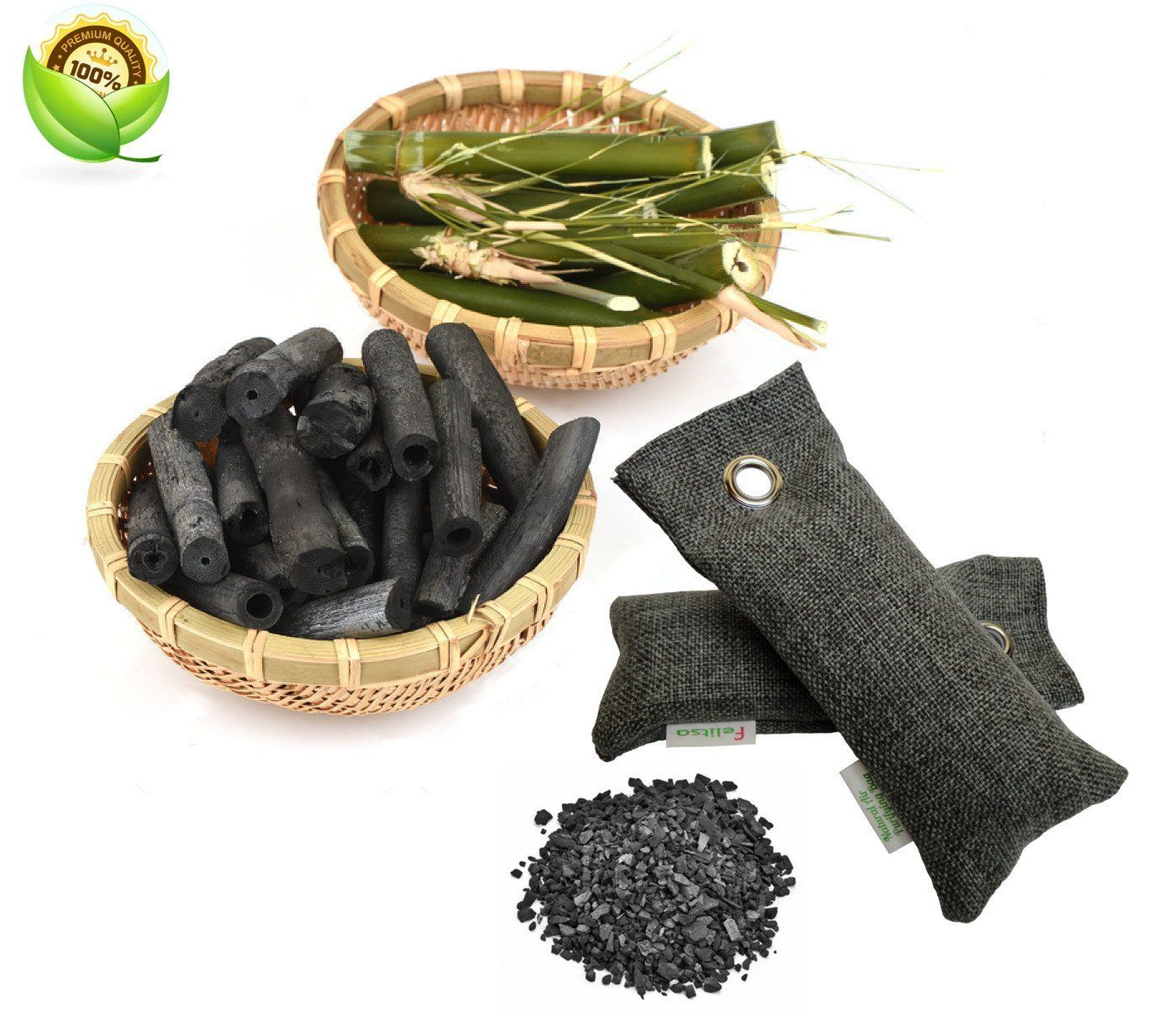 Natural Air Purifying Bags and Odor Remover