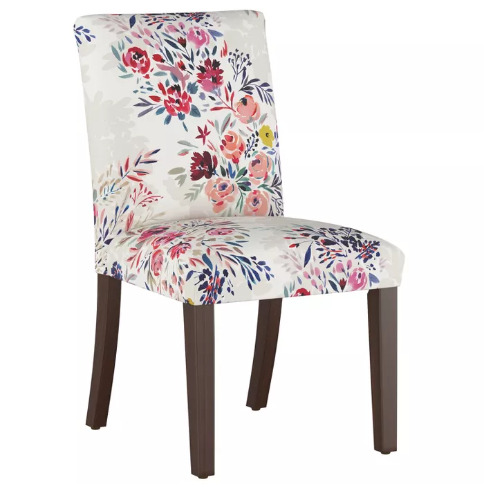 Luisa Pleated Dining Chair Multi Floral Cloth Company In 2020 Dining Chairs Plastic Dining Chairs Chair