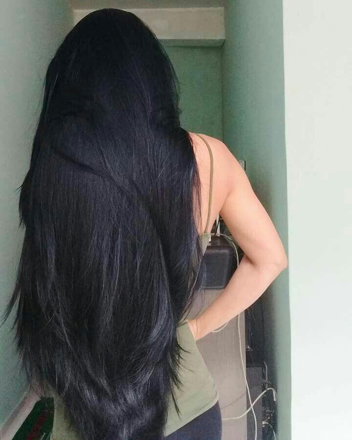 Pin By Natalia Kwiecien On New Hair Do Long Hair Styles Long Dark Hair Hair Styles