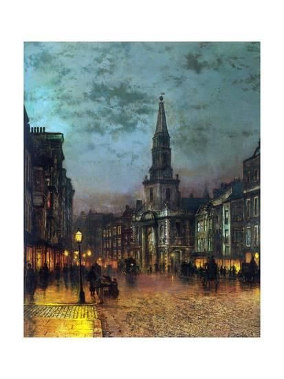 Pin By Alessandra Barbosa On Art Aesthetic Ideas In 2021 Victorian Art Atkinson Grimshaw Art