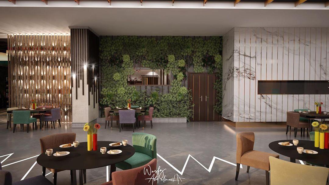 Jeddah Architectural Project On Instagram الانتهاء من مرحلة تصميم كافيه سكاي لاونج شارع الامير سلطان جدة والبدء بمراحل Interior Design Design Home Decor