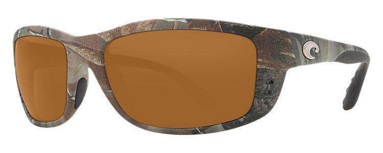 Costa zane 580p realtree camo polarized sunglasses bass