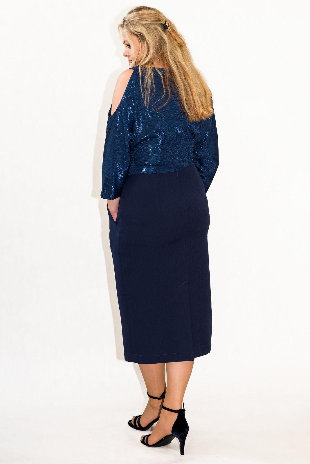 ad33d74004 ... PLUS SIZE 40-60 użytkownika XELKA - z fascynacji do kreacji.  Elegancka   sukienka MARI z kolekcji świąteczno-sylwestrowej  lt 3  lt 3
