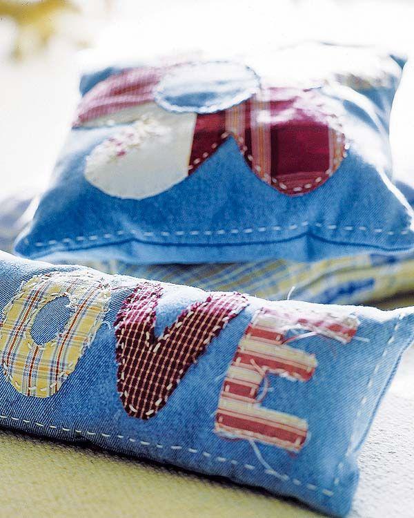 Colchas, servilletas, tapizados, cojines… Ni te imaginas lo que puedes hacer con unos retales, aguja e hilo y unas gotitas de imaginación.