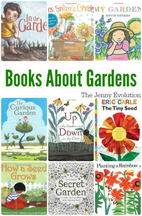 Welcome Spring 10 Picture Books About Gardens With Images