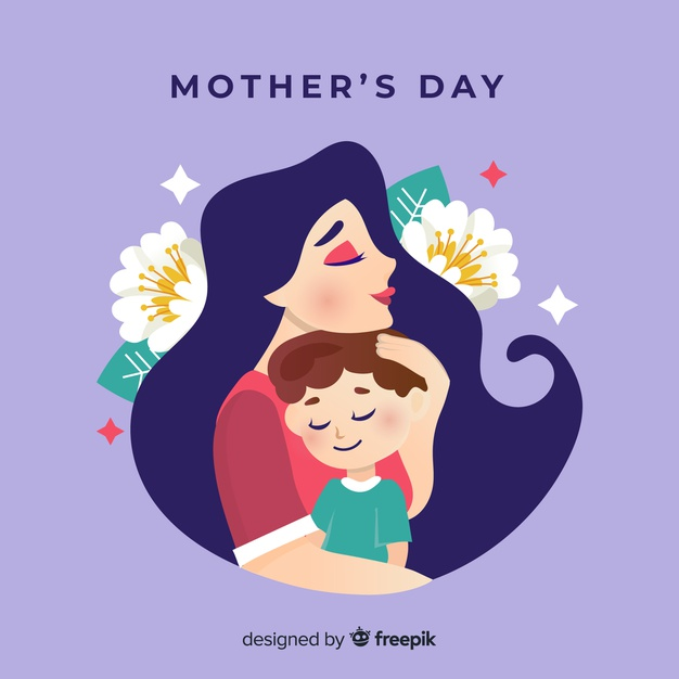 Happy Mother S Day Mothers Day Cartoon Happy Mothers Day Banner Mother And Child Drawing