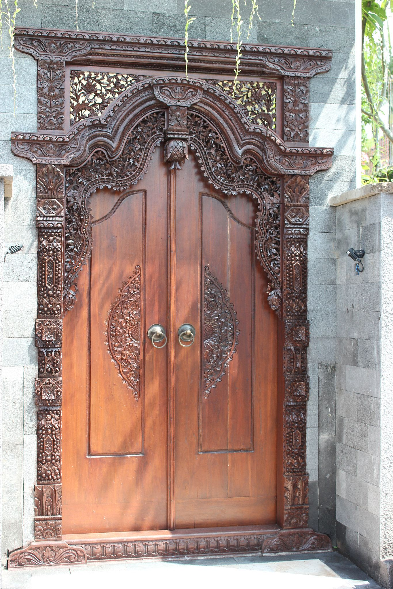 Pooja Room Door Carving Designs Google Search: Porte Sculptée N° 5 (With Images)