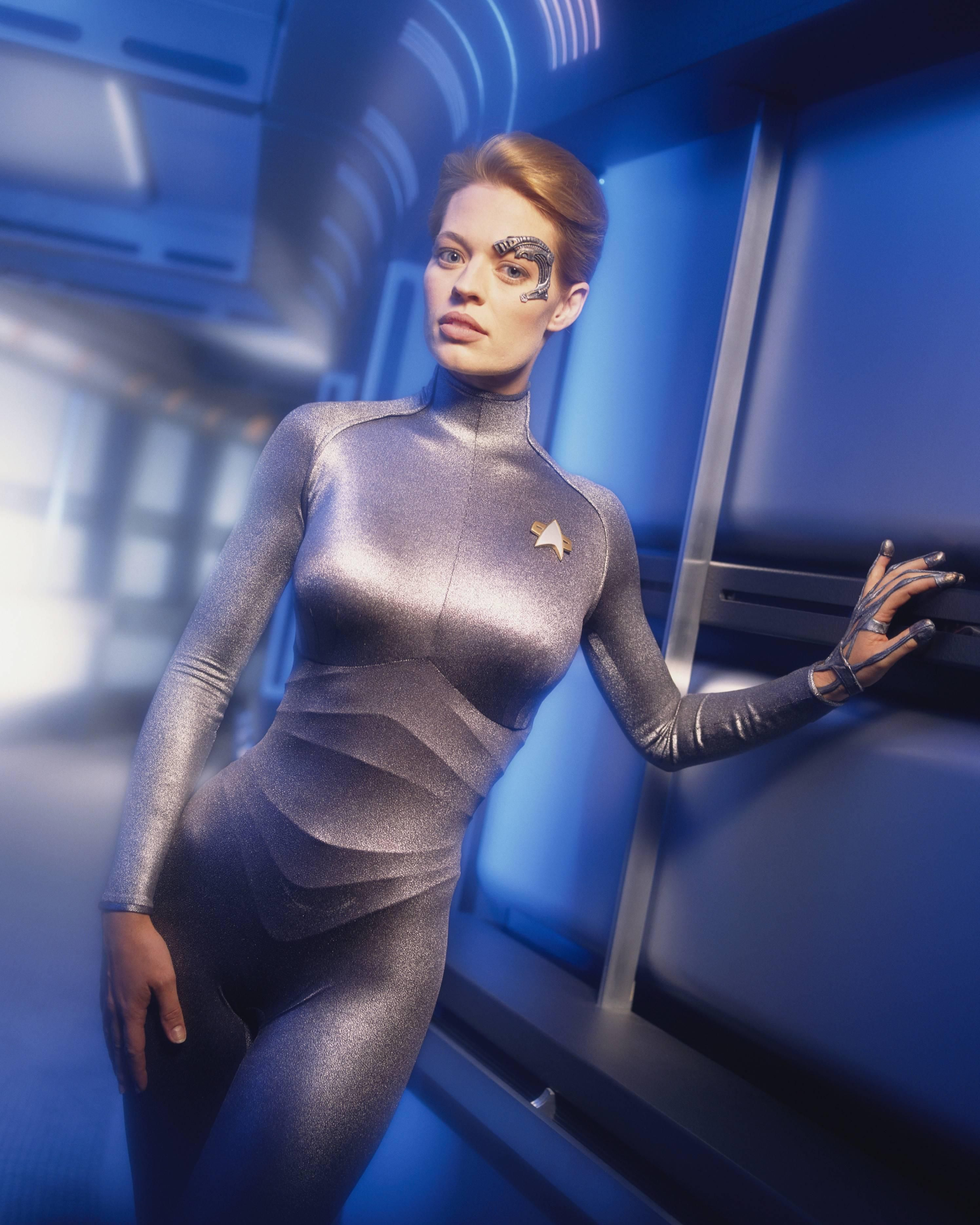 Star Trek Voyager femslash meando