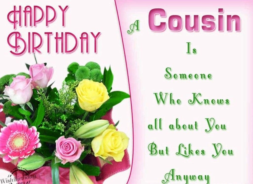 happy birthday wishes for your favorite cousin download free male - birthday greetings download free