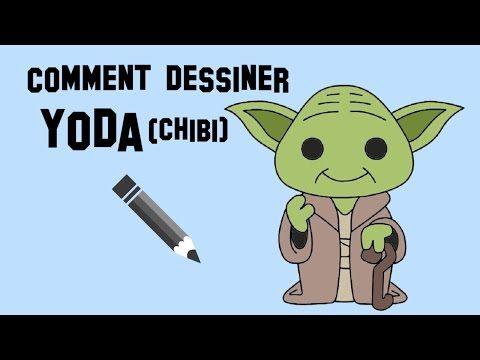 Comment dessiner yoda chibi star wars youtube dessin - Dessin facile star wars ...