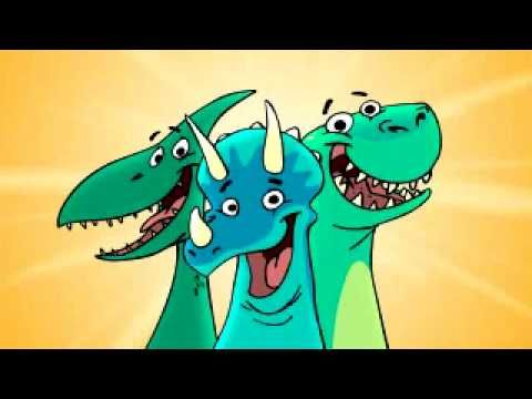Dinosaur song: A really cute song about dinosaurs and them going extinct, and new catchy fun tune for kids to learn while having fun.