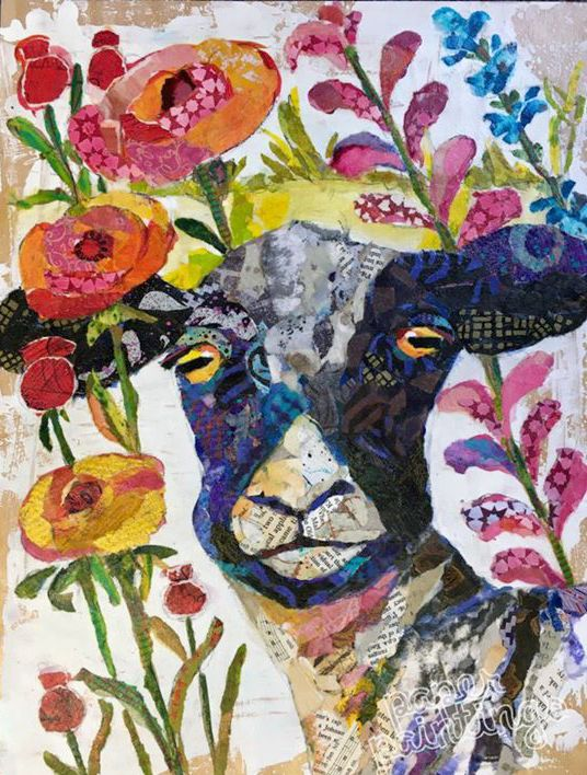 Collage By Elizabeth Saint Hilaire Nelson | Elizabeth St. Hilaire ...