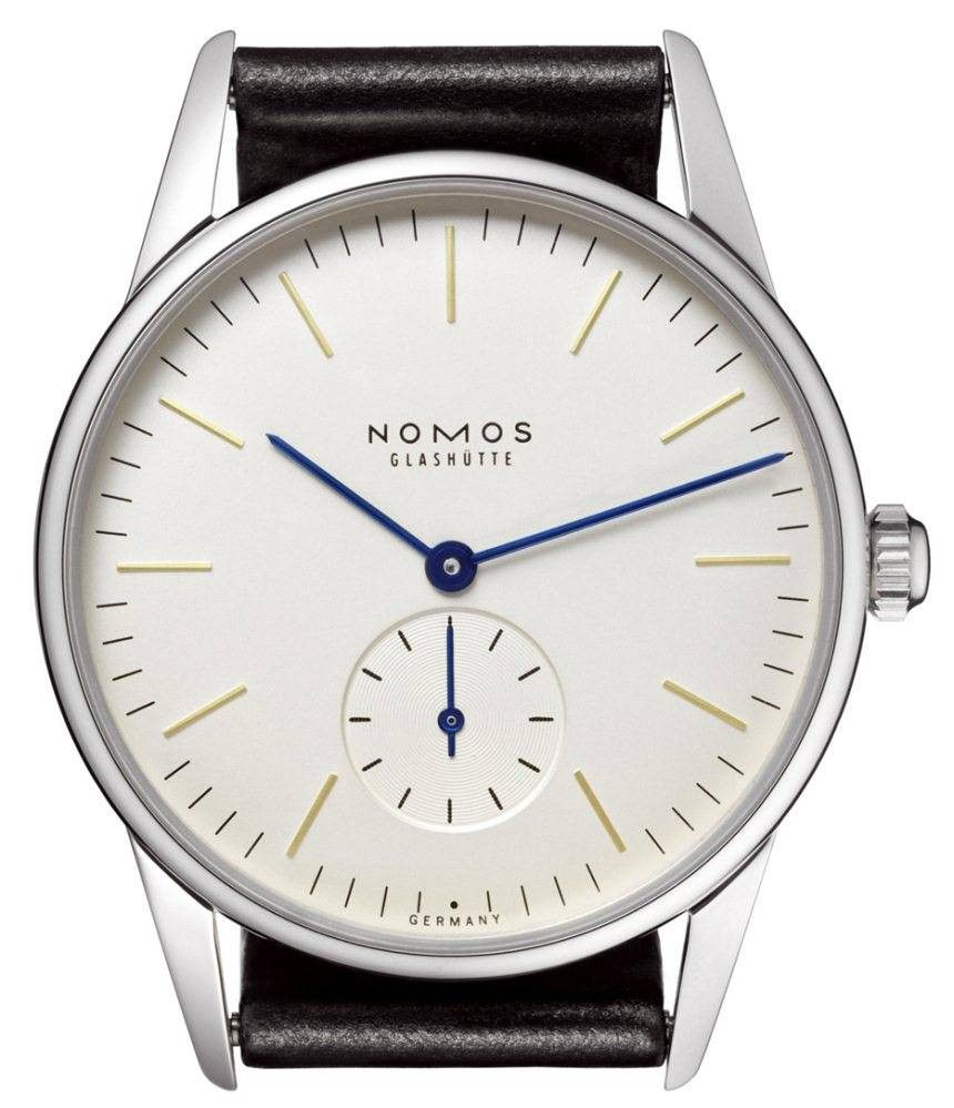 Nomos Glashutte Orion    Very classy and discerning, appreciated by the watch connoisseur