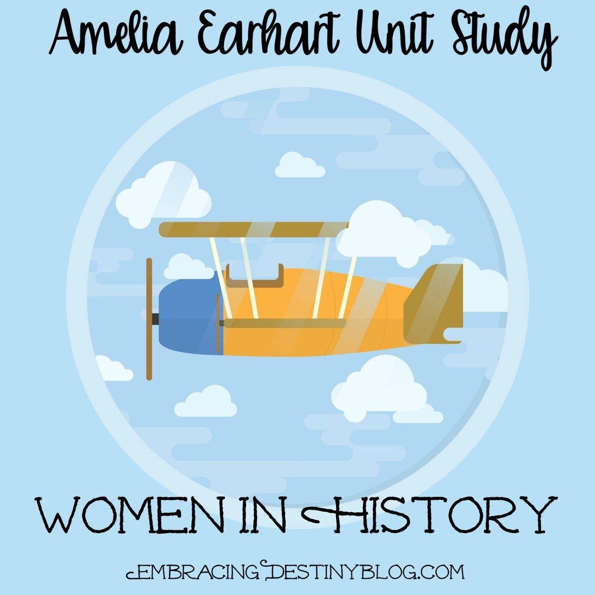 Women In History Amelia Earhart