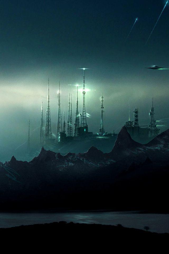 cool Fond d'écran science fiction hd - 175 | fantasy | Pinterest | Sci fi, Sci fi art and ...