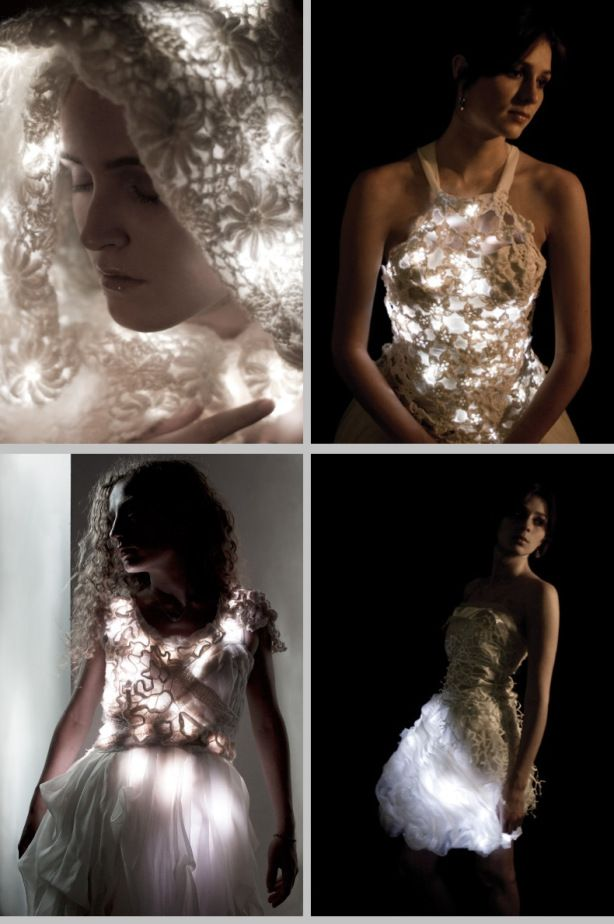 Flashion Statement: Mary Huang's Light Up Dress Designs