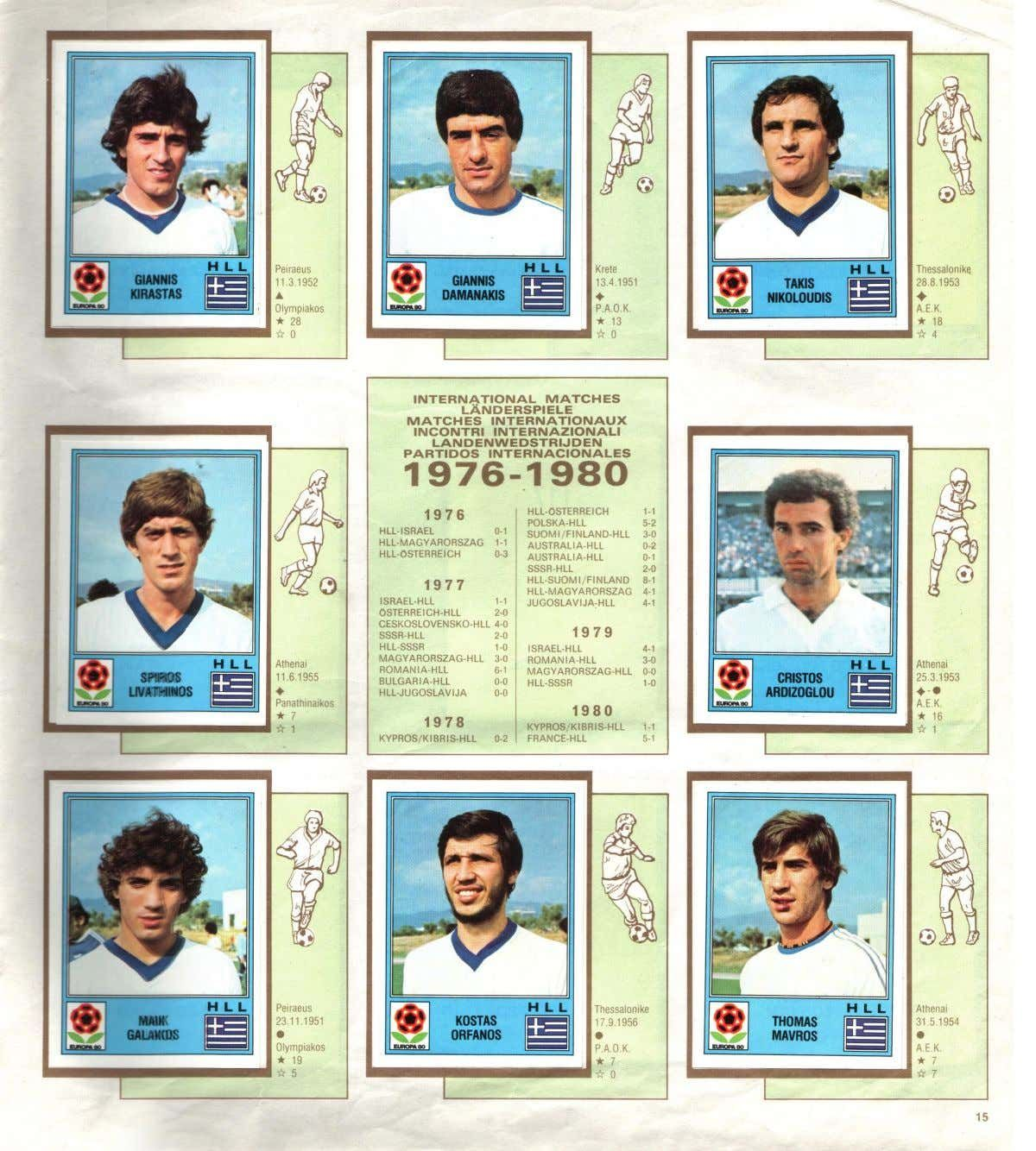Panini Europa 80 Sticker Album Document Sharing European Championships [ 1334 x 1200 Pixel ]