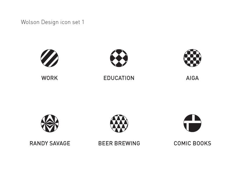 Portfolio Icon Set Option 1 Icon Set Icon Icon Design