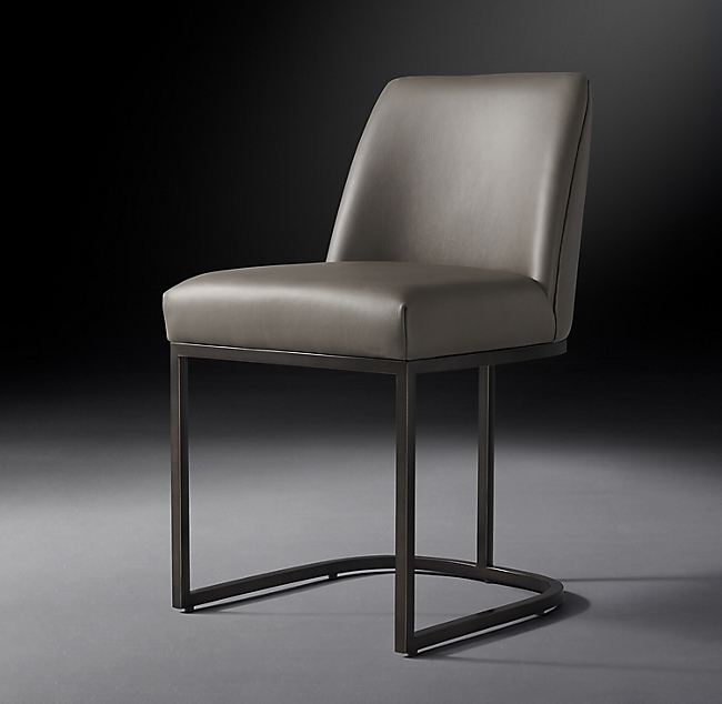 Fine Emery Curved Back Leather Side Chair 90 Furman In 2019 Uwap Interior Chair Design Uwaporg